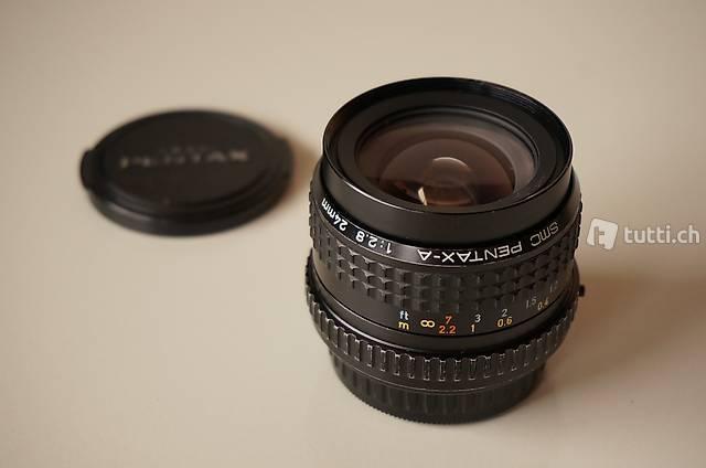 SMC Pentax-A 24mm f2.8 auch für Digital