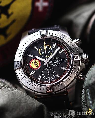 BREITLING SWISS AIR FORCE TEAM LIMITED EDITION