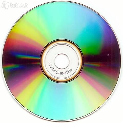 CDs, Singels und DVDs