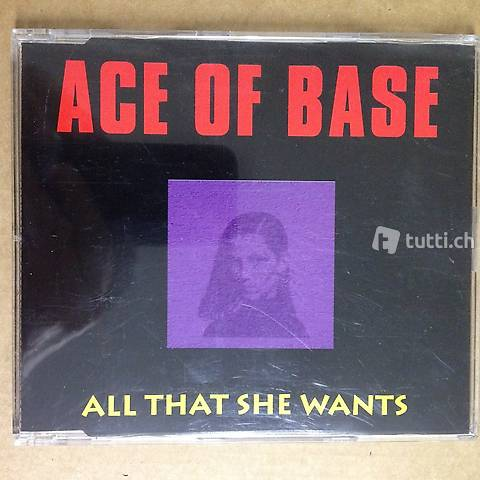 Ace Of Base ? All that she wants - CD