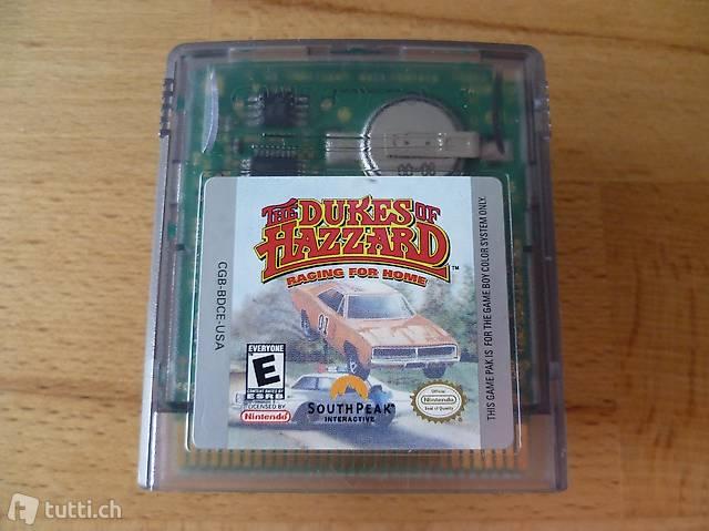The Dukes of Hazzard - Nintendo Game Boy Color