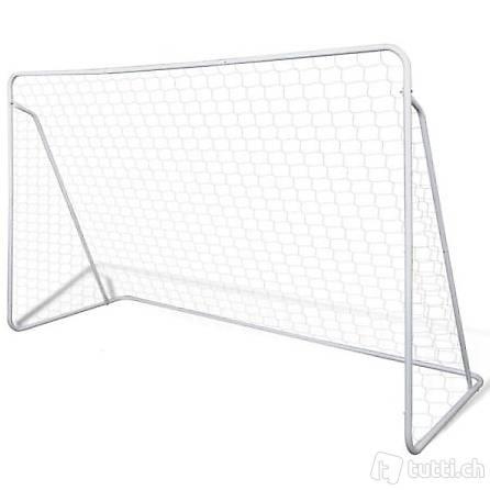 Mini Fußball Torpfosten Netz Set Stahl 2