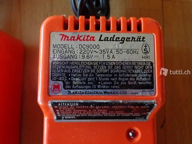 Makita DC 9000 / chargeur accu