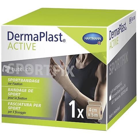 DermaPlast Active Sportbandage 4cm x 5m Beige / Hautfarbe