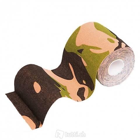 1x Kinesio-Tape 7,5cm Farbe : Tarnfarbe Dschungel