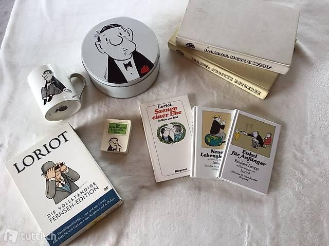 Loriot DVDs, Bücher etc., Stückpreis