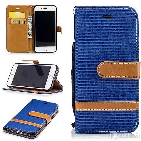 IPHONE 6S Housse Flip Etui Cover Case Wallet Hülle Schutz B
