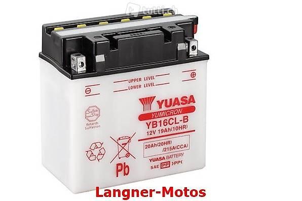 YB16CL-B Yuasa Motorrad Batterie 12V 19AH Kawasaki Jet Ski