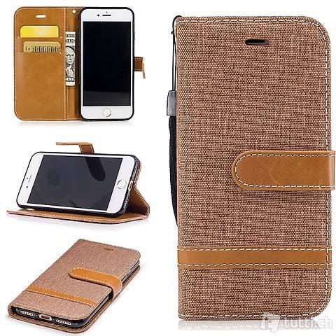 IPHONE 6S Housse Flip Etui Cover Case Wallet Hülle Schutz B.