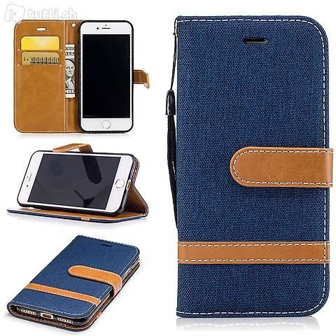 IPHONE 6S Housse Flip Etui Cover Case Wallet Hülle Schutz N