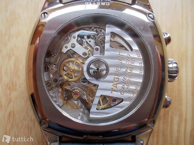 Armbanduhr TAG Heuer Monza, Calibre 36, El Primero