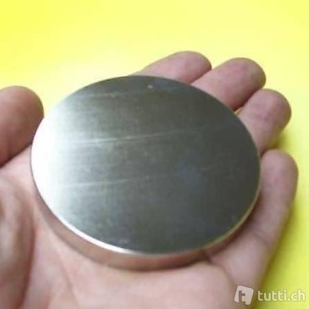 NEU Neodym Power Magnet SUPERMAGNET Rund ca. 298 kg
