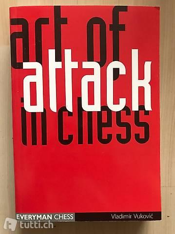 Art of Attack in Chess. Vukovic, Vladimir. Schach, Echecs,