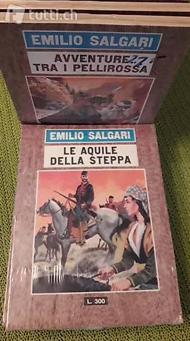 SERIE ROMANZI DI EMILIO SALGARI