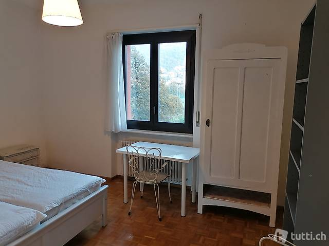 Furnished room to rent Lugano center
