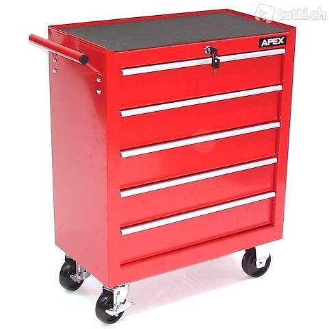 Werkzeugwagen Apex Eco 5 mit 5 Schubladen