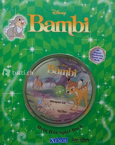 Disney, Bambi (inkl. CD)