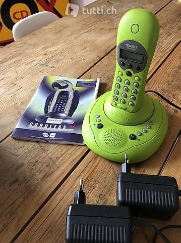 Swatch Cordless II inkl. Telefonbeantworter