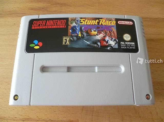Stunt Race FX - Super Nintendo SNES