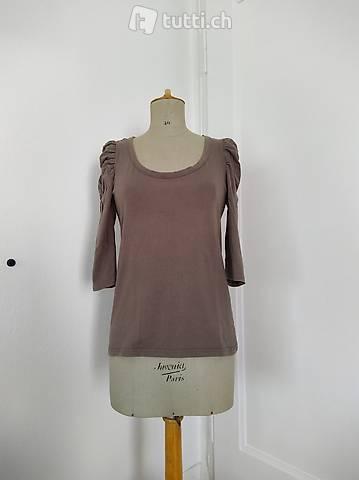 Shirt mit 3/4-Ärmel (mud)