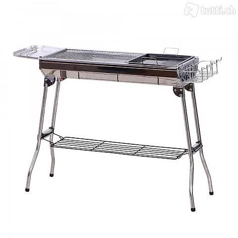Charcoal Grill in acciaio (Consegna gratuita)