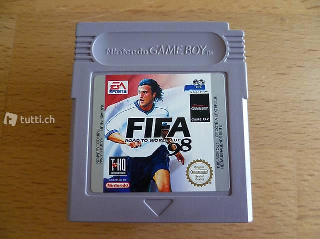 FIFA 98 - Nintendo Game Boy