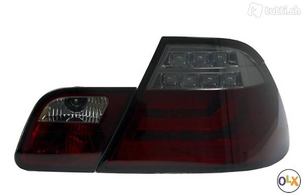 BMW 3ER BMW E46 COUPE - LED LIGHTBAR RÜCKLEUCHTEN