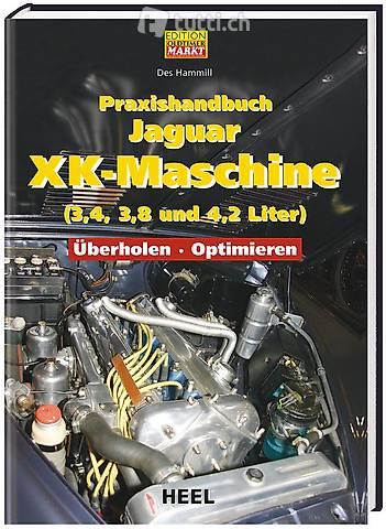Buch, Praxishandbuch Jaguar XK-Maschine