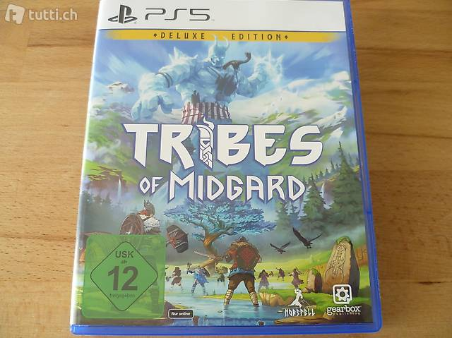 Tribes of Midgard - Sony PlayStation 5 PS5