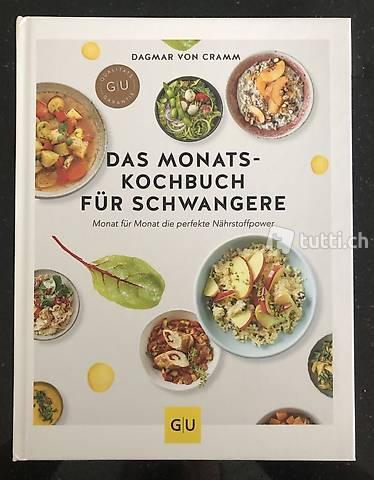 Das Monats-Kochbuch für Schwangere - Neu!