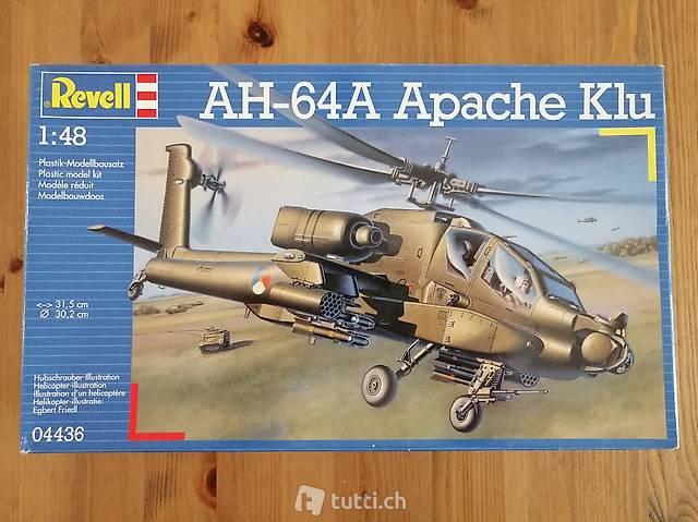 1:48 Revell 04436 - AH-64A Apache Klu - Modellbausatz