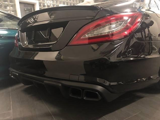 Diffusor RT Kunstoff Schwarz Mercedes CLS63 W218 CLS500
