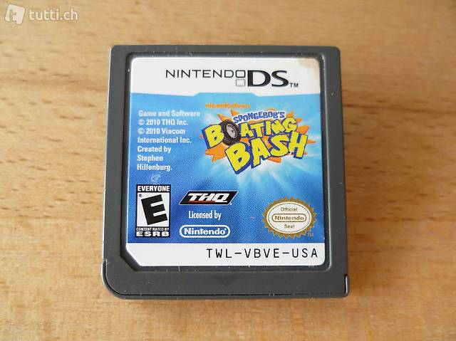 SpongeBob: Volle Kanne Vollgas - Nintendo DS NDS