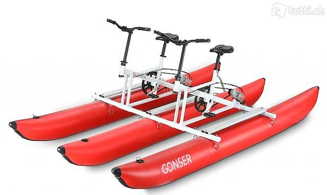 Wasserfahrrad Waterbike Tandem (Gratis Versand)