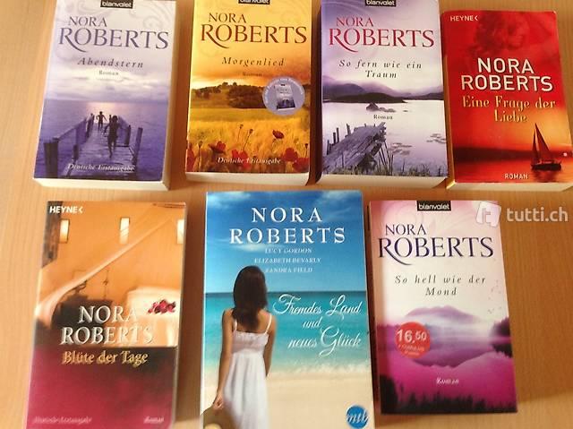 7 Romane von Nora Roberts, Einzelverkauf