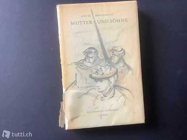 Mutter und Söhne, Büchergilde Gutenberg 1958