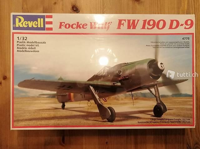 1:32 Revell 4775 - Focke Wulf FW 190 D-9 / Modellbausatz