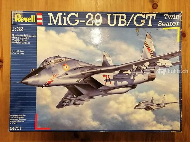 1:32 Revell 04751 - MiG-29 UB/ GT Twin Seater - Modellbau