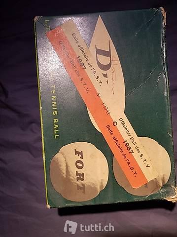 Dunlop Tennisbälle von 1967