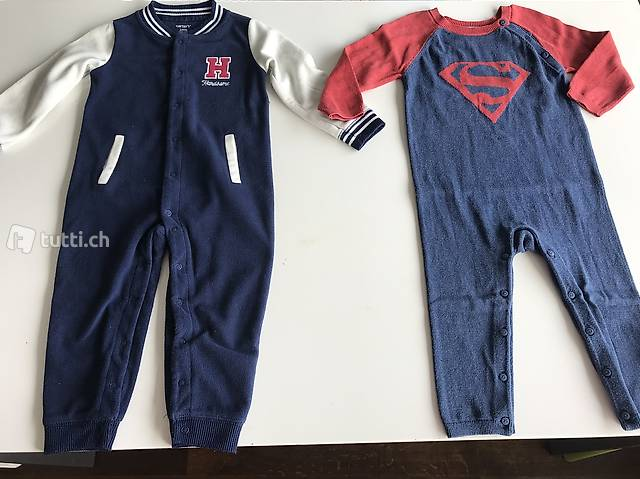 Carters, baby gap Superman Strampler, coole-modern styling