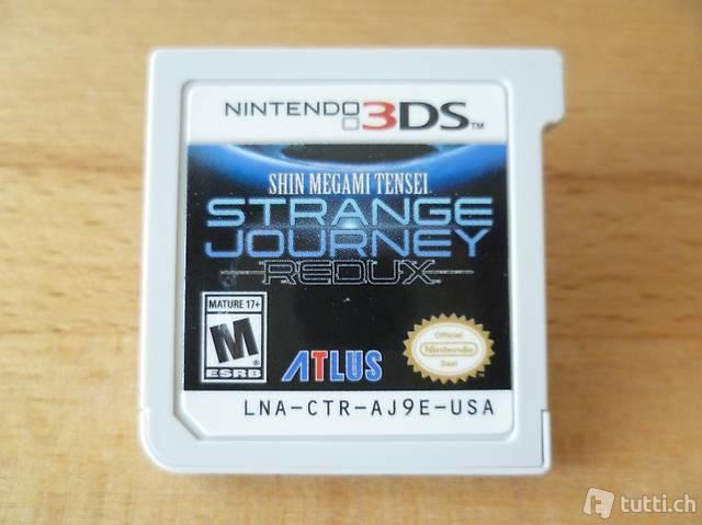 Shin Megami Tensei: Strange Journey Redux - Nintendo 3DS 2DS