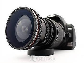 Portofrei x0.25  Fischauge Canon EOS 600D 650D