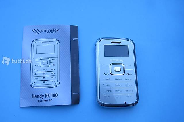 Handy, Simvalley RX-180