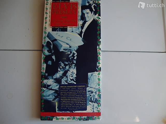 ELVIS If Every Day Was Like Christmas SPEC. COLLECTOR  ED.