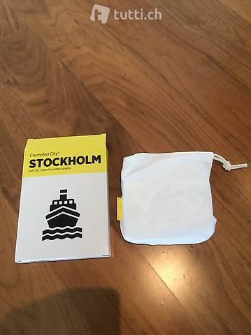 Knitterfeste Stockholm Stadtkarte
