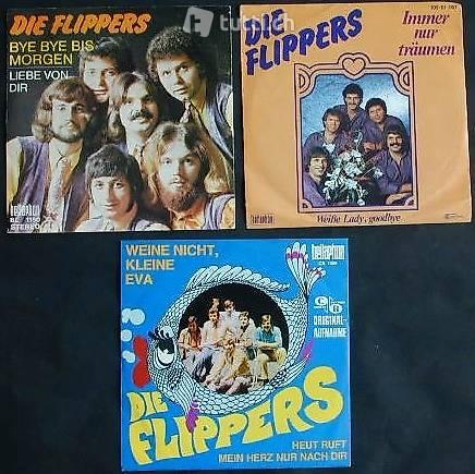 DIE FLIPPERS Sammlung: 3 Vinyl Platten zusammen