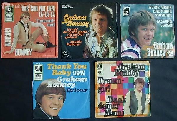 GRAHAM BONNEY Sammlung: 5 Vinyl Platten zusammen
