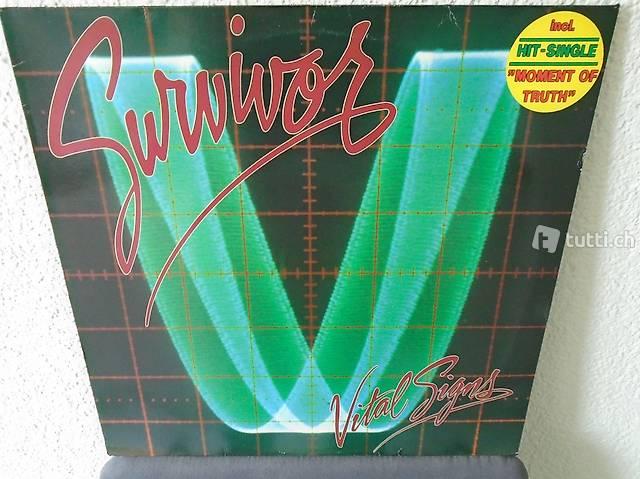 Survivor 5, Vinyl