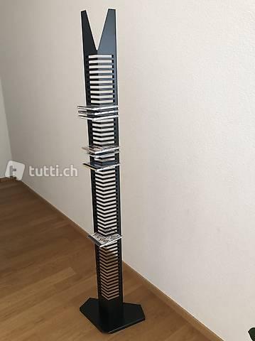CD-Ständer / Turm: für 62CD's, H: ca.167cm