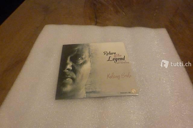 Return of the Legend Vol 9 CD **  2017 Ella Records ** Kahsa